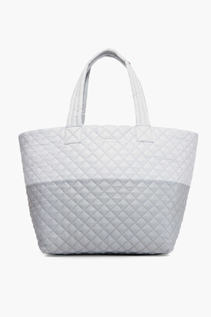 overcast and mist colorblock large metro tote