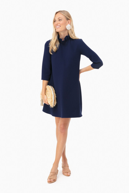 navy daphne dress