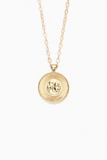 gold lucky original pendant