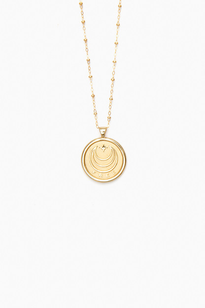 gold free small pendant