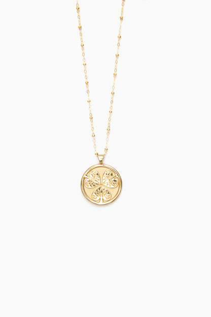 Gold Joy Small Pendant This item ships directly from the vendor within 3 business days.