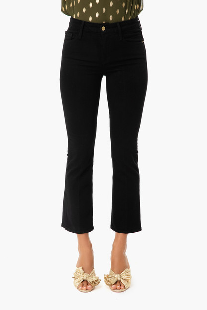 film noir le crop mini boot cut