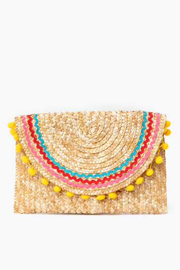 rainbow harlow clutch