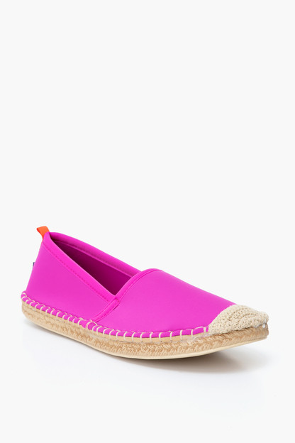 pink beachcomber espadrille water shoe