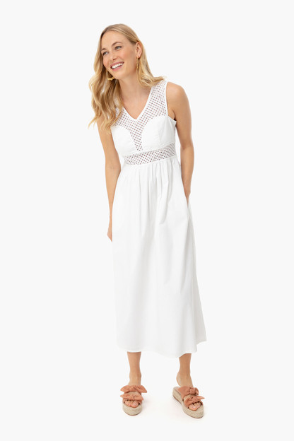 White Ravello Dress