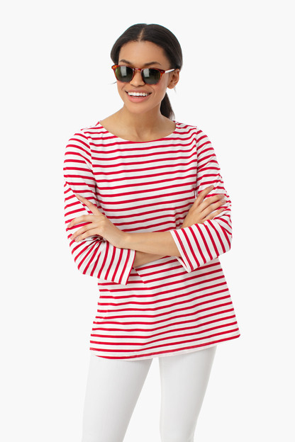 striped jojo top