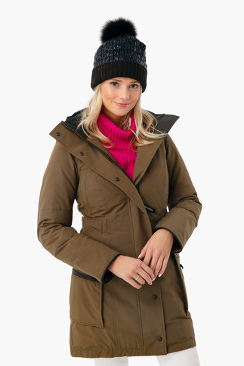 military green kinley parka