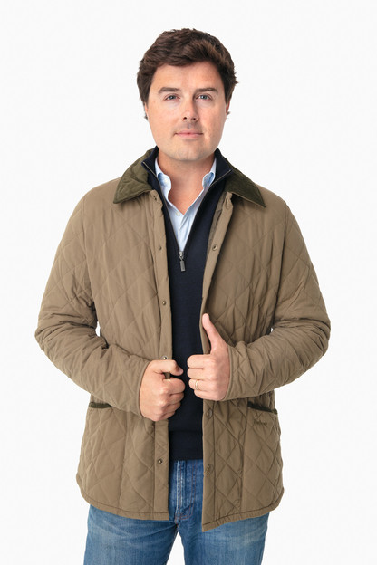 clay bridle quilt jacket