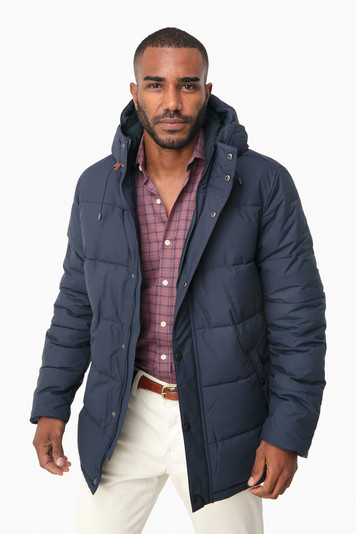 navy beeston quilt jacket