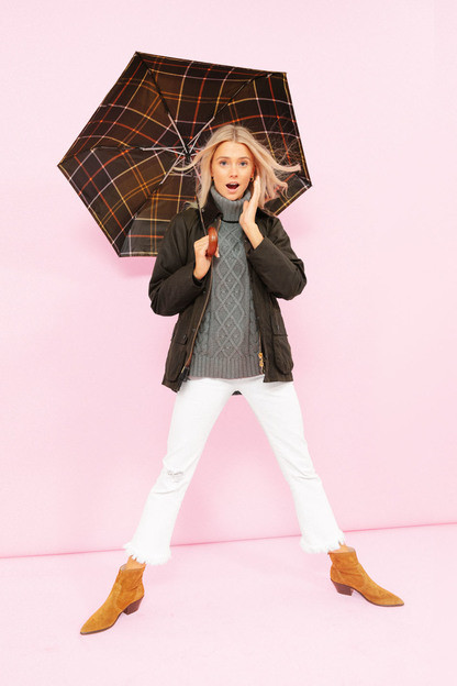 classic tartan mini umbrella
