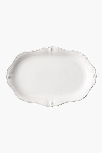 white wash berry and thread 15 platter