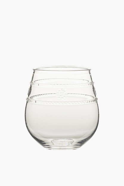 Isabella Acrylic Stemless Wine Glass This item ships directly from the vendor within 2 business days.