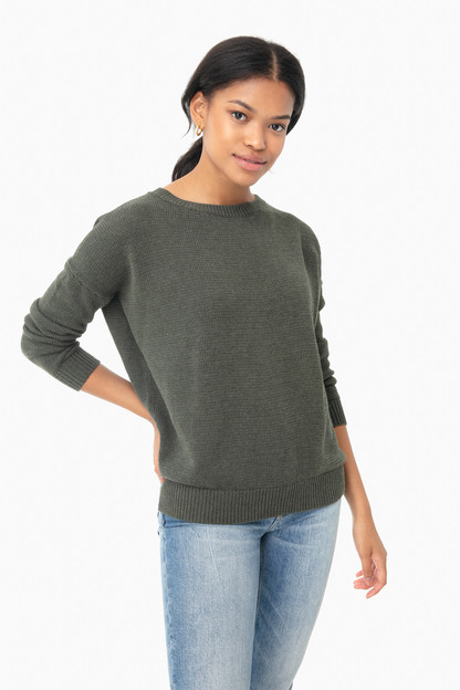 army organic carolyn sweater