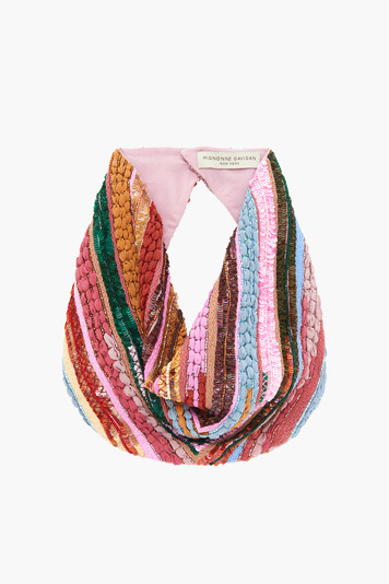multi sophia le charlot scarf necklace
