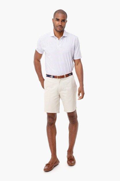 white regal egan polo shirt