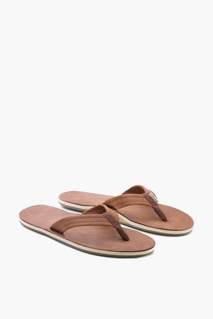 brown fields flip flops