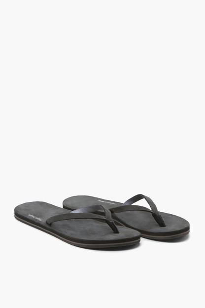 Black Meadows Flip Flops