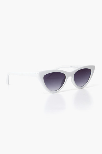 white naughty sunglasses