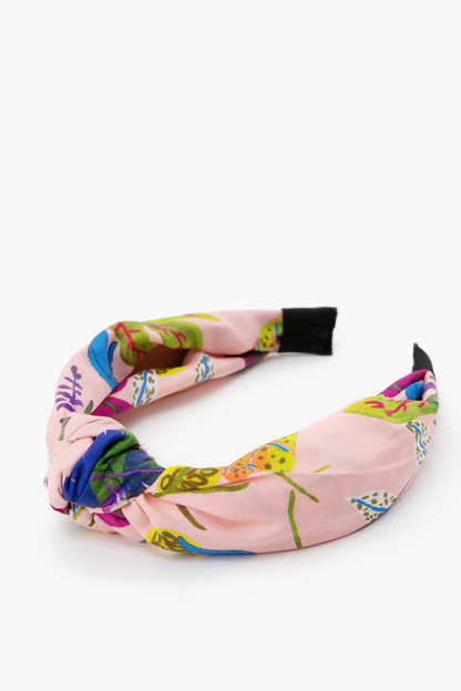jungle leaves printed headband