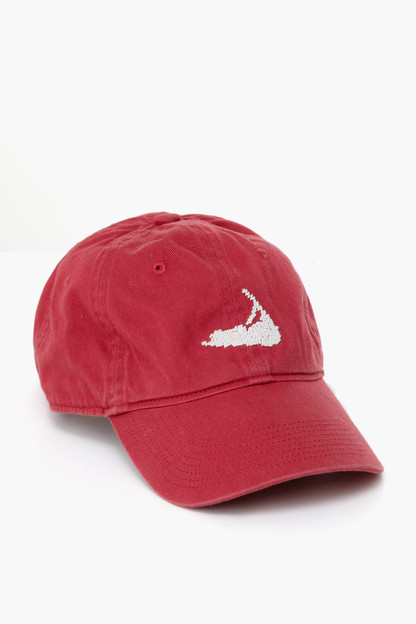 new england red nantucket hat