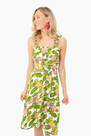 steffy floral mae midi dress