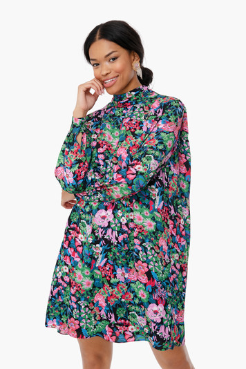nightfall floral alice dress