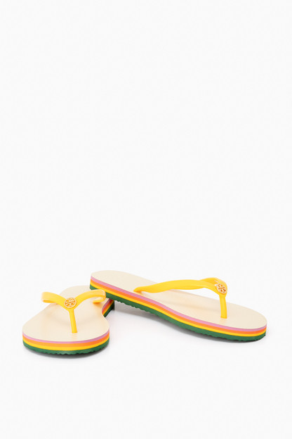 solar canyon stripe thin flip flop