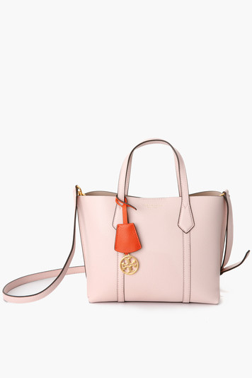 shell pink small perry tote