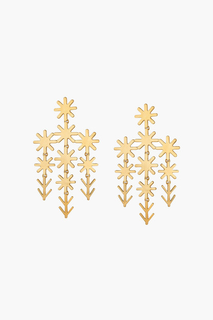 uma chandelier earrings
