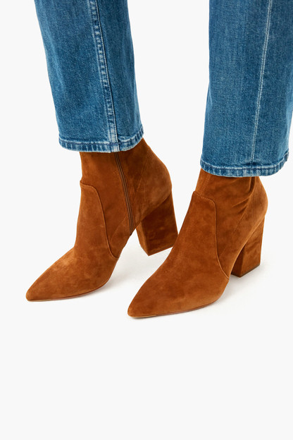 cacao isla slim ankle bootie