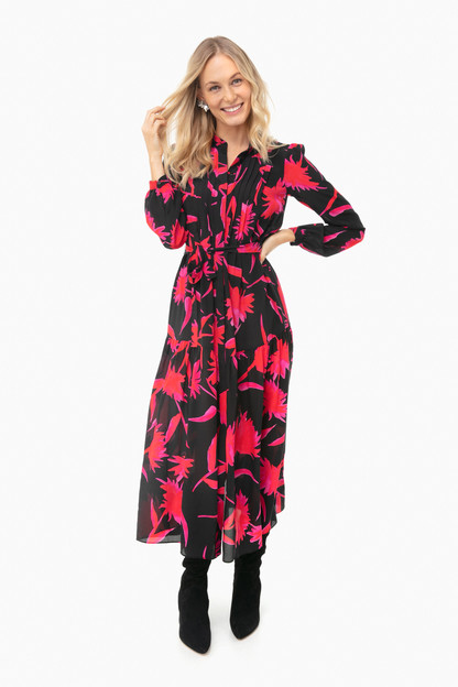 noir carnation remi b dress