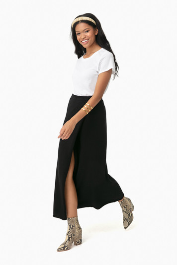 black clarissa skirt