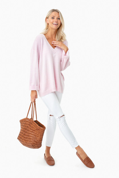 orchid pink fifi sweater
