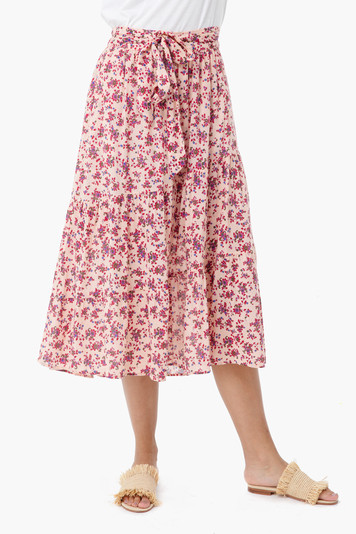 late blossom sutton skirt