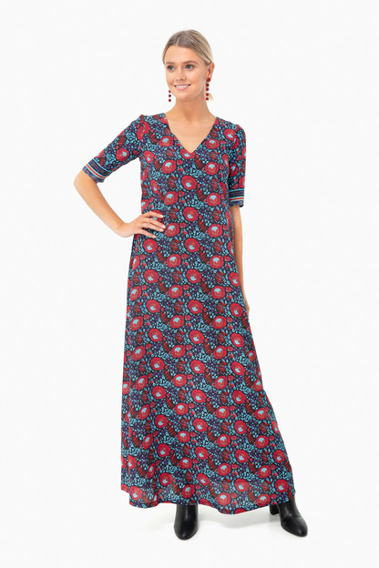 goa sunset kensington dress