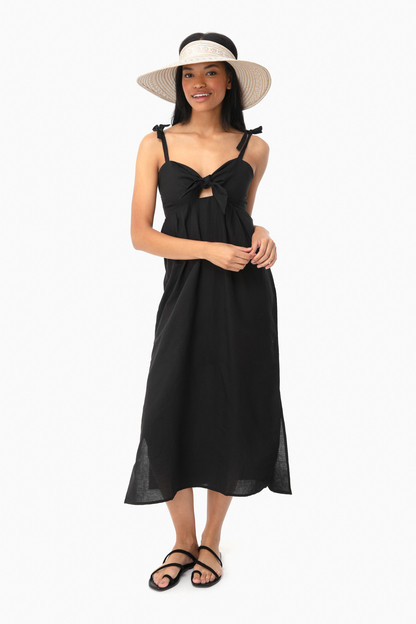 black cayman dress
