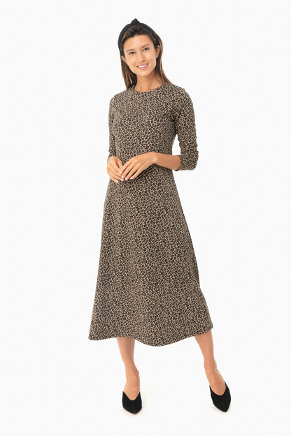 leopard harper dress