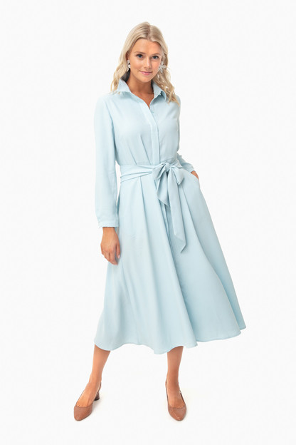 Light Blue Aster Dress
