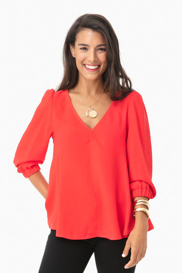 poppy hollis blouse