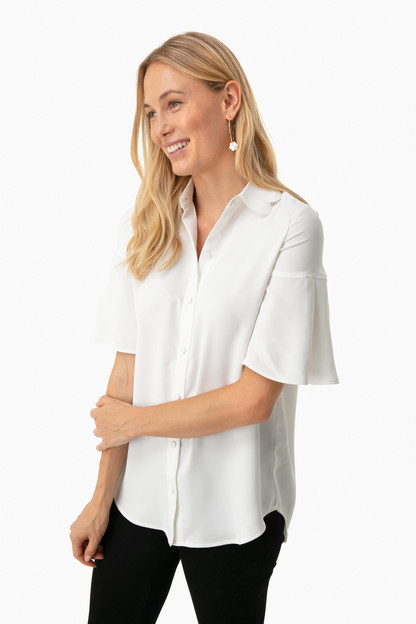 off white limerick blouse