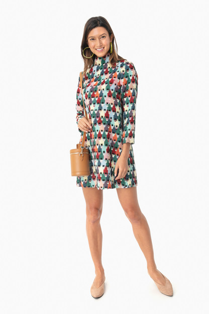multi ellie dress