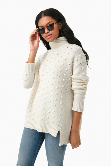 natural alice popcorn sweater