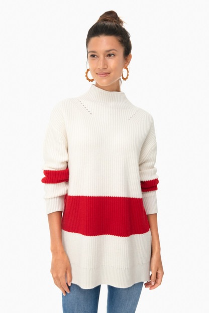 broadway stripe sweater