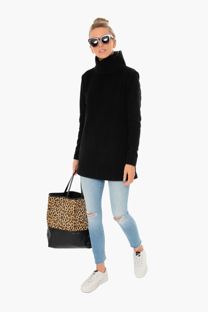 black cobble hill turtleneck