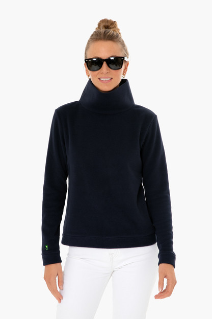 navy park slope turtleneck