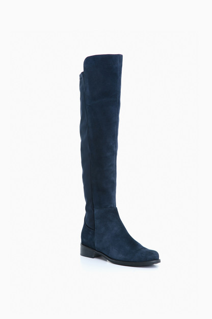 navy suede velma boots
