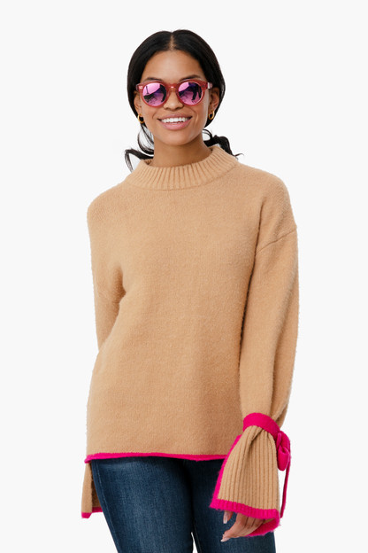 camel eliana sweater