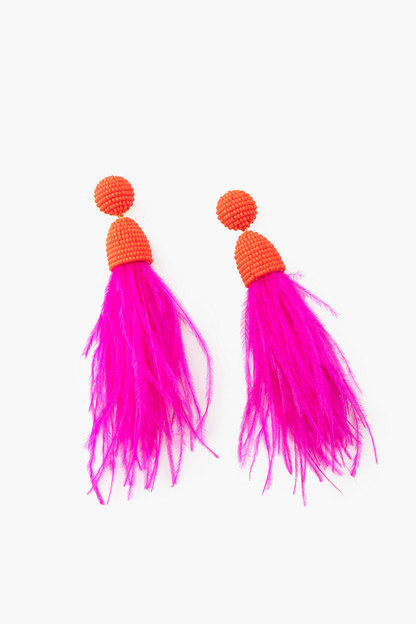 fuchsia sydney earrings