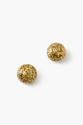 gold brooke earrings