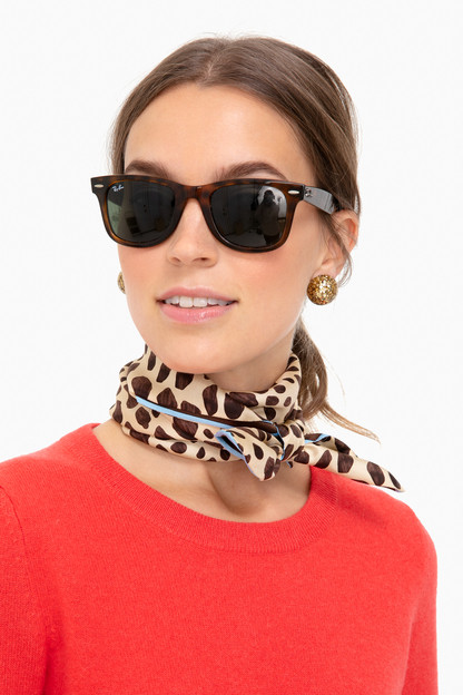 Leopard Silk Scarf Take 25% off with code FLASH